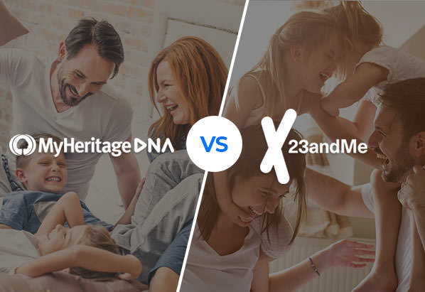 MyHeritage vs 23andMe DNA testing kits