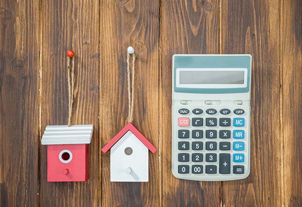 Calculate the costs of a no down payment mortgage