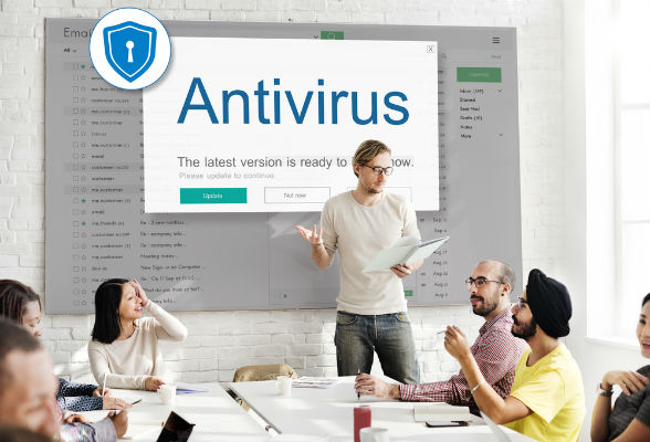 Find an antivirus with auto-updates to avoid viruses
