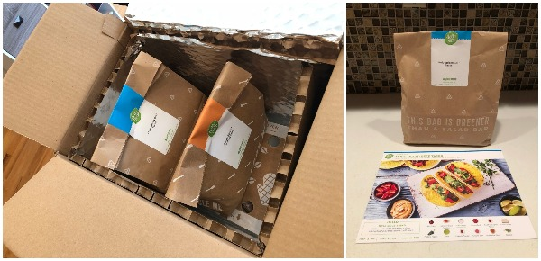 HelloFresh recyclable box