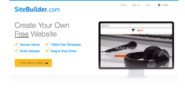 Explore SiteBuilder and Wix templates