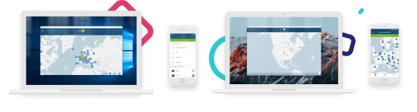 NordVPN apps on all your devices