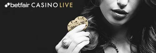 Betfair also has a live casino