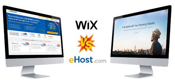 Wix and eHost go head to head