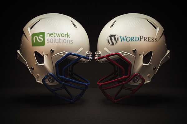 Network Solutions vs WordPress website builders comparison