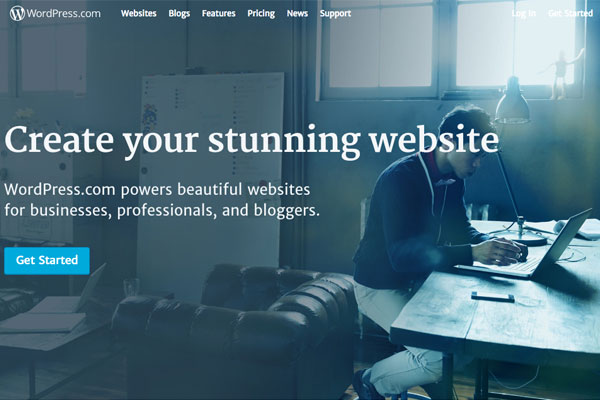 WordPress offers SEO-optimized website building