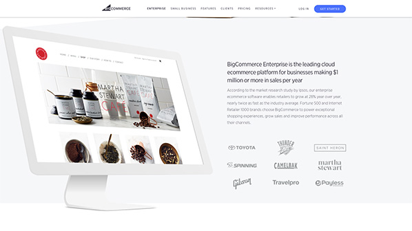 BigCommerce Enterprise offers everything you need to maximize sales