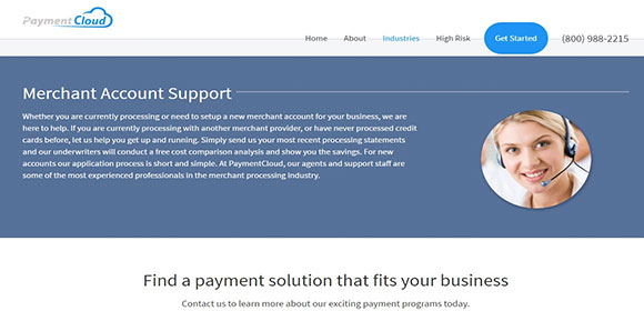 PaymentCloud offers excellent one-on-one account support