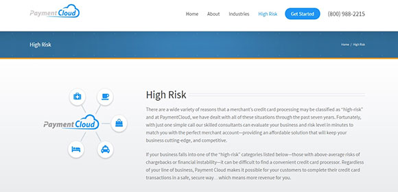 High risk merchants will get excellent CCP solutions with PaymentCloud