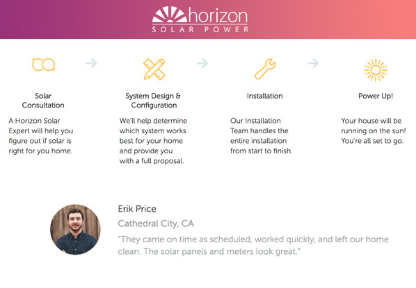 Residential and commercial solar solutions with Horizon Solar