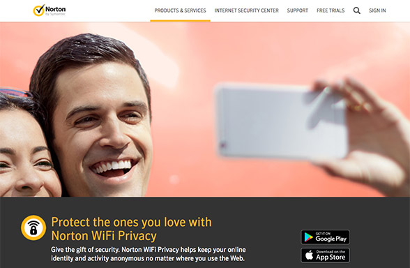 Protect the ones you love with Norton WiFi Privacy