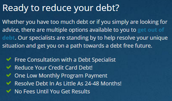 get ready to reduce your debt