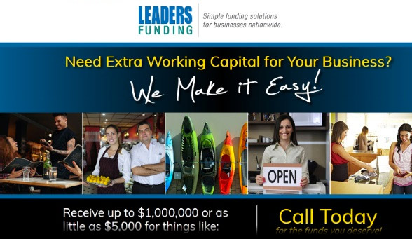 Leaders Funding small business loans
