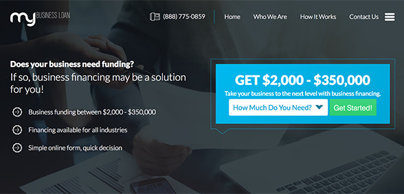 MyBusinessLoan.com Provides Business Funding