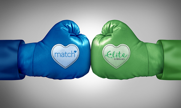 EliteSingles and Match.com Go Head to Head