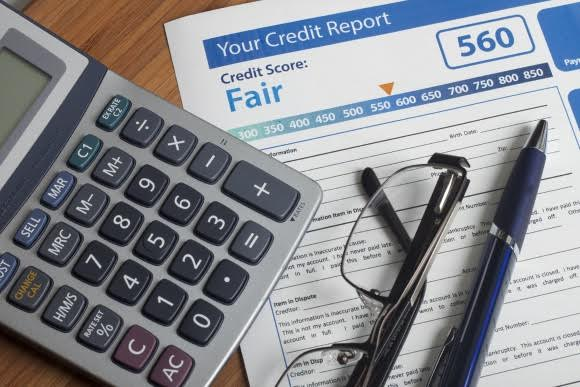 "If you ran a credit check and your score came out less than ""excellent"" don't be discouraged."