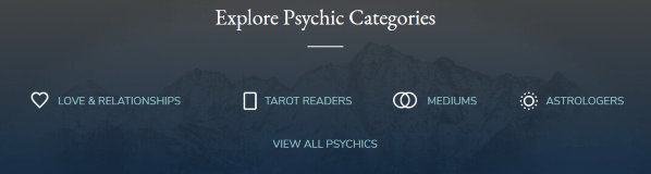 Psychic categories