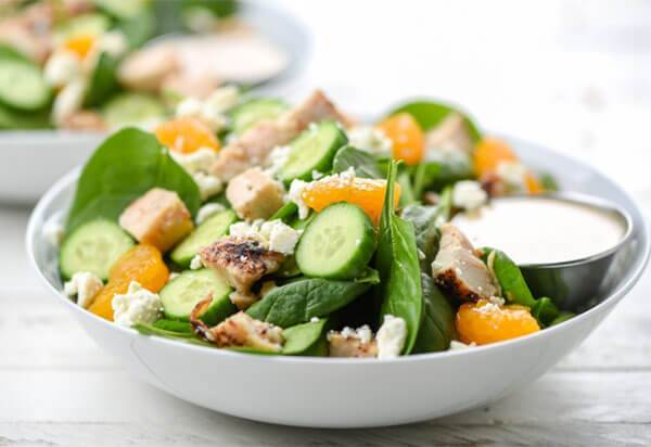 Citrus-Feta Chicken Salad