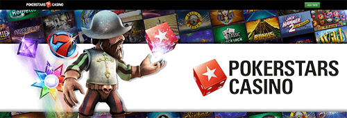 PokerStars Casino has card, table and slots games