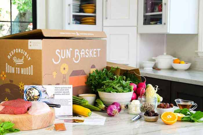 With Sun Basket you get all you need delivered direct to your home