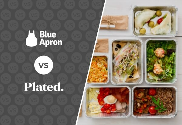 Blue Apron vs Plated - Best Meal Delivery