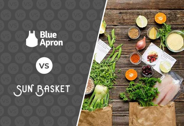Sun Basket vs Blue Apron - Meal Kits