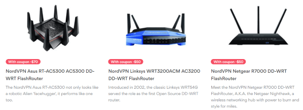 NordVPN for routers