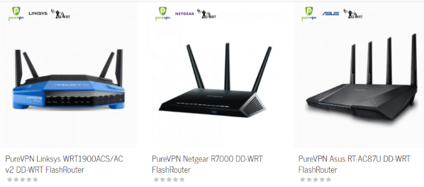 PureVPN for routers