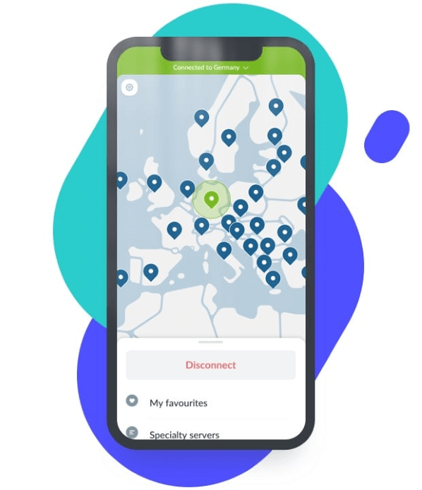 NordVPN on iPhone