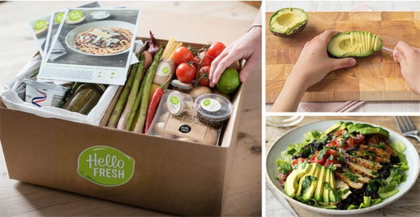 HelloFresh review of meal kit box