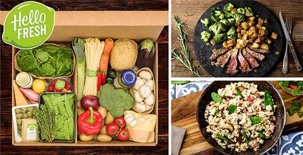 HelloFresh box - make delicious meals at home