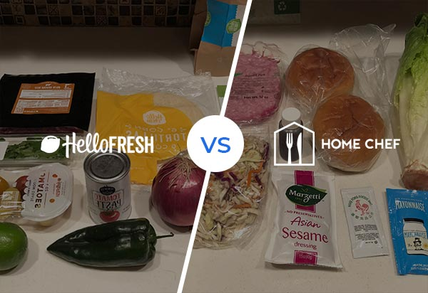 I tried HelloFresh and Home Chef - battle