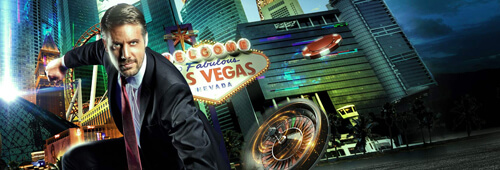 Bring out your gambling superpowers at Vegas Hero