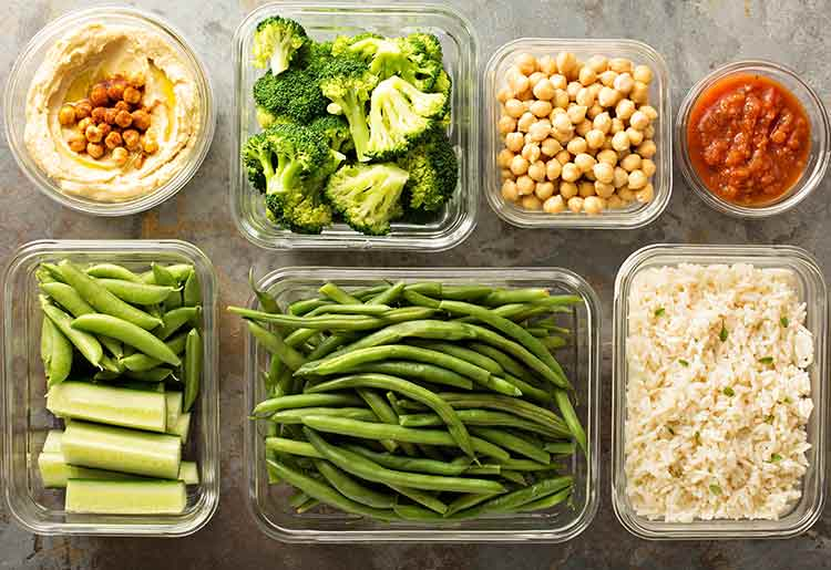 Plan your meals to lose weight