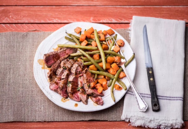 Paleo steak recipe by HelloFresh