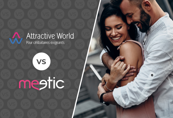 Attractive World VS Meetic