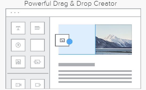 Weebly Drag and Drop Creator