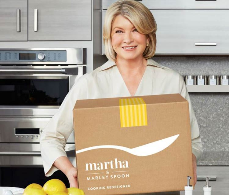 Martha Stewart for Marley Spoon
