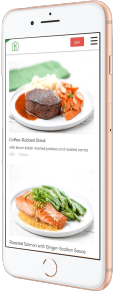 Home Chef mobile app