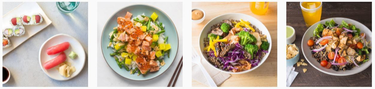 Munchery meal delivery options