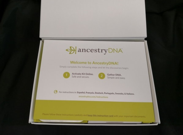 Ancestry activation reminder