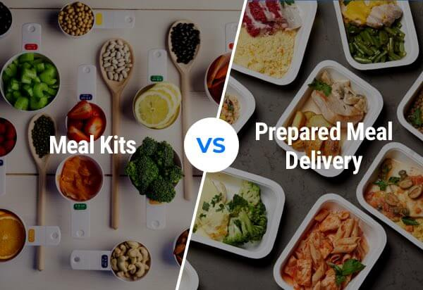 Meal Kits vs Prepared Meal Delivery: What's the Difference?