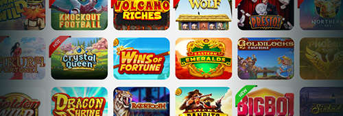 Play our wide variety of games at WestCasino