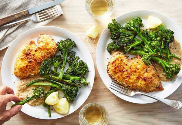 Chicken and Roasted Broccolini