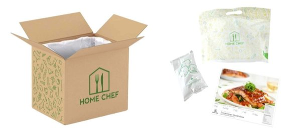 Home Chef - What's in the box?
