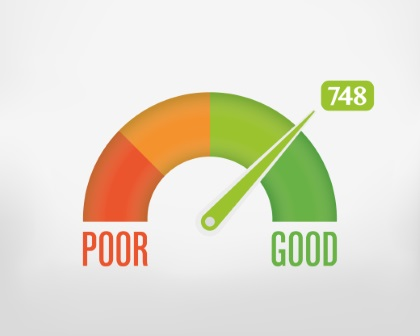 Credit Scores can go up and down, but aim to keep it high