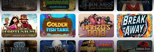 Casino Joy has a great range of games