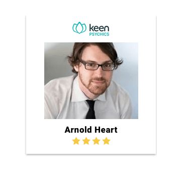 Arnold Heart from Keen Psychics