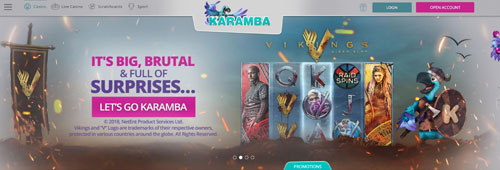 Start your casino experience with Karamba today