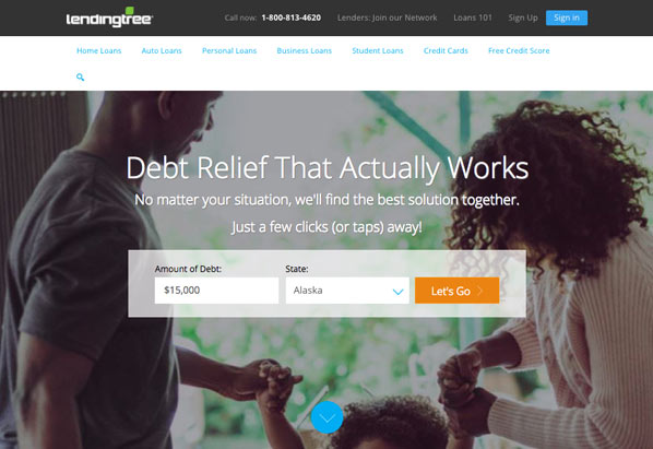 LendingTree works for debt